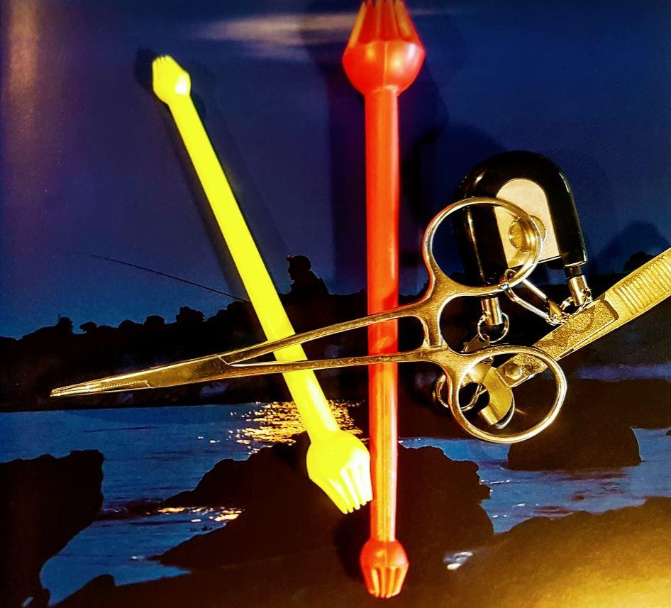 skal du fiske sjøørret med sluk er det greit med litt verktøy.