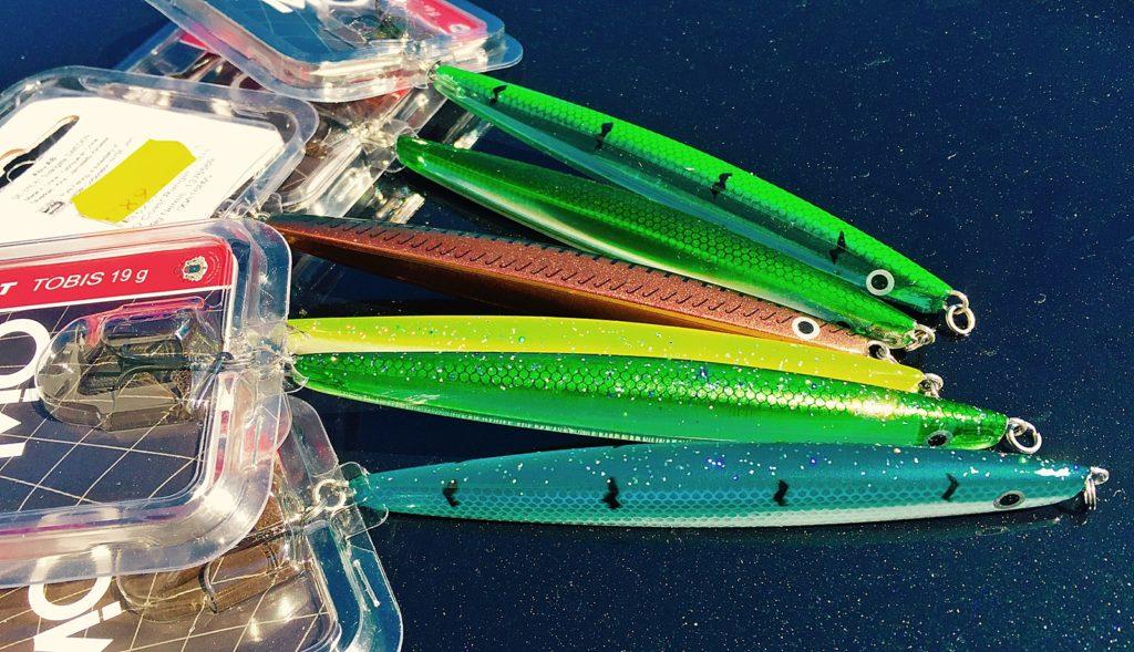 Skal du fiske sjøørret med sluk så gå for noen kystwobblere.