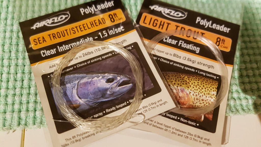 Polyleader er mitt valg når jeg skal fiske sjøørret med flue.
