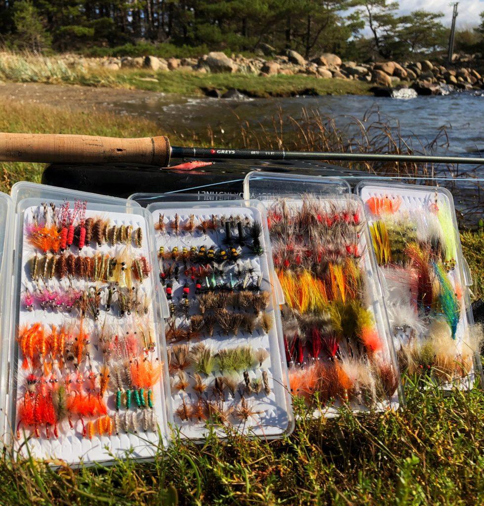 Skal du fiske sjøørret med flue så trenger du sjøørretfluer. Her er mine favoritter.