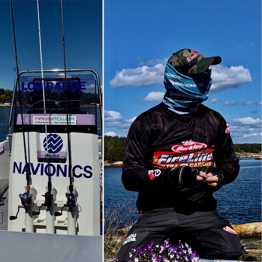 Bjørn Tore Kjølholt testet ut fiskestenger. Denne gangen er det Savage Gear Parabellum CCS som er på testbenken.