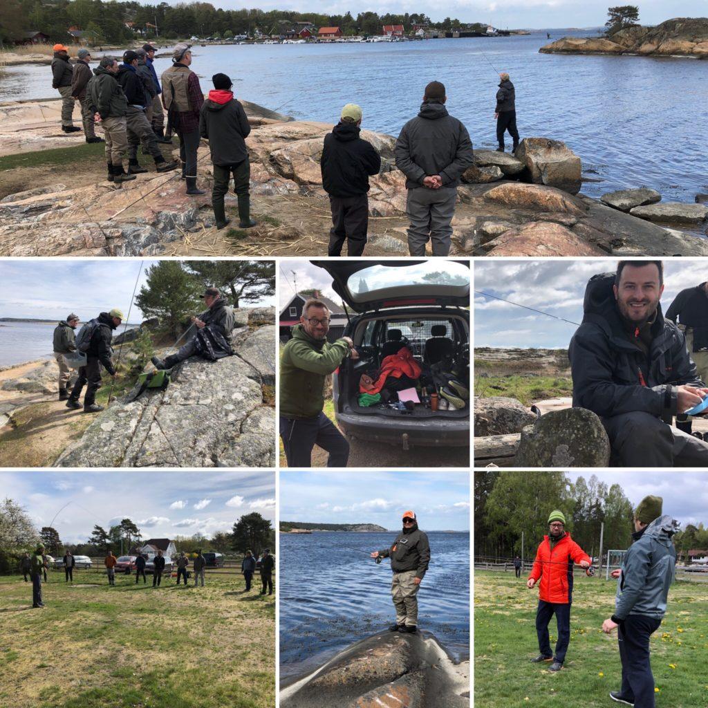 Fluekasekurs og fiskekurs etter sjøørret. Bjørn Tore Kjølholt,rosareke.