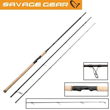 Savage Gear Custom Coastal 9' 7-23g. Dette er en meget bra fiskestang til sjøørret.
