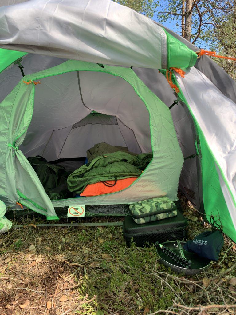 Her er mitt Coleman Cortes 2 telt. Mitt valg av telt på tur.